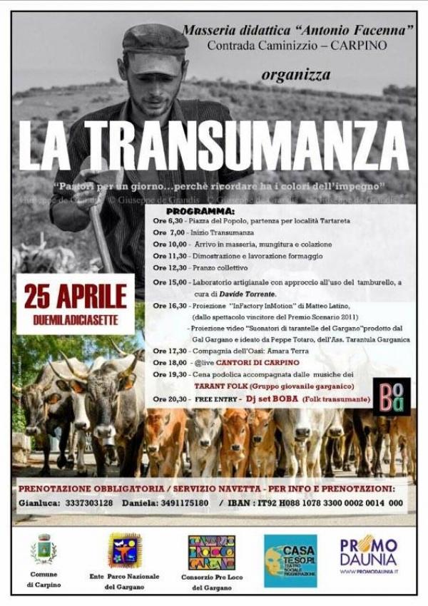Evento in onore e omaggio ad Antonio Facenna: la Transumanza...pastori per un giorno - perché ricordare ...