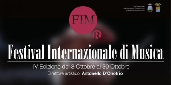 Al Festival internazionale di Rovello Porro diretto dal viestano Antonello D'Onofrio ospite d'onore