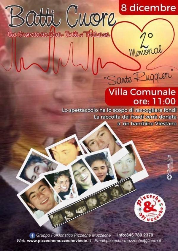 Vieste/ I Pizzeche & Muzzeche in memoria di SANTE RUGGIERI raccolgono fondi per tre bambini portatori di handicap