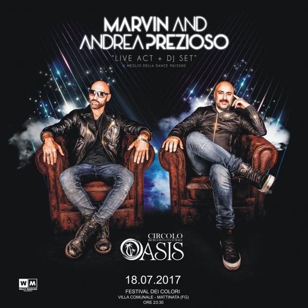 Mattinata/ Marvin & Prezioso per il Festival dei Colori 2017
