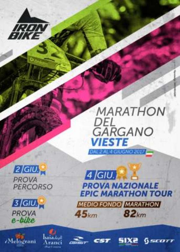 Marathon Mtb del Gargano, appuntamento dal 2 al 4 giugno all'ombra dello Sperone d'Italia.