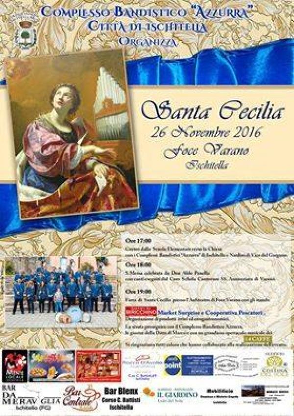 """Domani a Foce Varano Santa Cecilia con il complesso Bandistico """"AZZURRA"""" di Ischitella"""