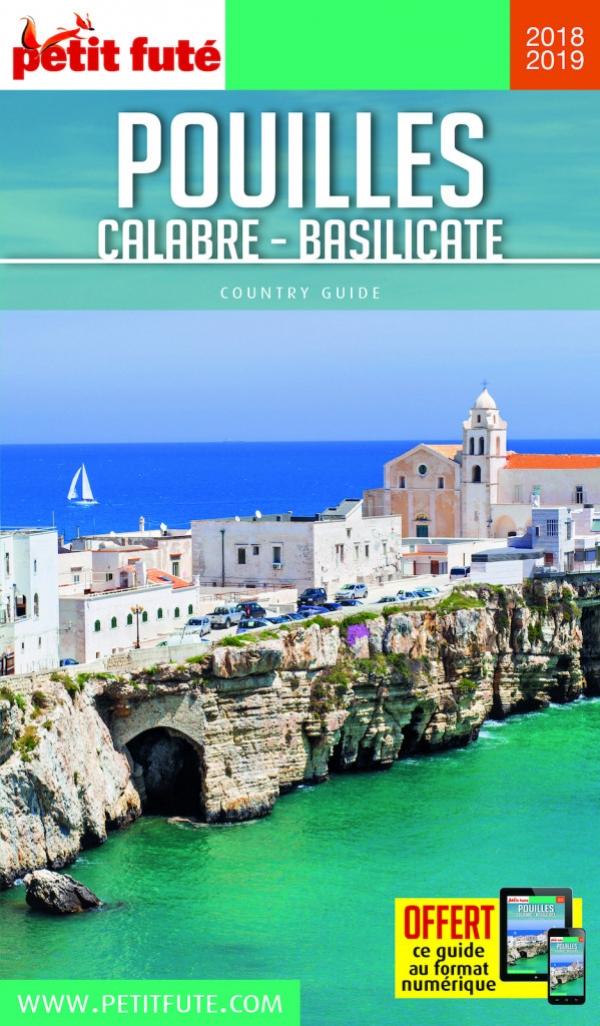 """Turismo/ Vieste alla conquista del mercato francese. Petit fute : New edition """"POUILLES-CALABRE-BASILICATE"""" con Vieste in copertina"""