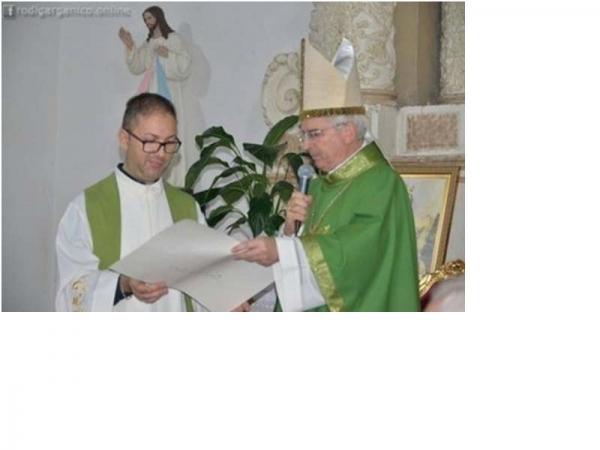 Vieste/ Fondazione Filippo Turati/ Il nostro Arcivescovo Mons. Michele Castoro ha inteso donare a questa nostra Fondazione ...