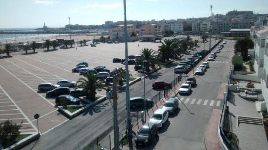 Vieste spostato al grande parcheggio europa il capolinea for Lungomare elevato