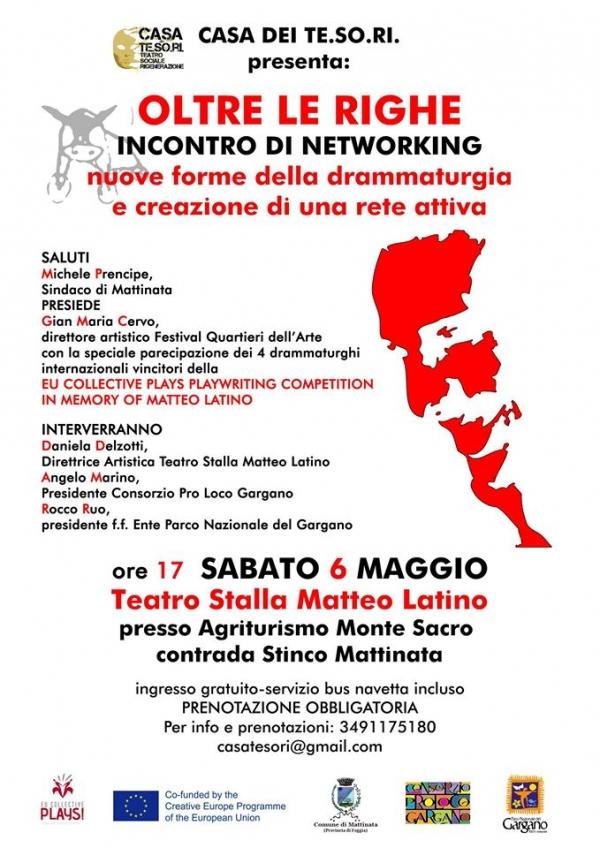 Residenza artistica internazionale sul Gargano e incontro di Networking.
