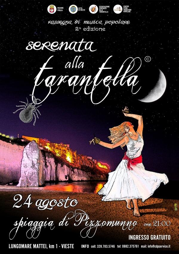 """Vieste/ 24 agosto, TERESA DE SIO sul palco per la II° edizione di """"SERENATA ALLA TARANTELLA"""""""