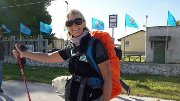 Paestum-Manfredonia a piedi, percorsi 230 km