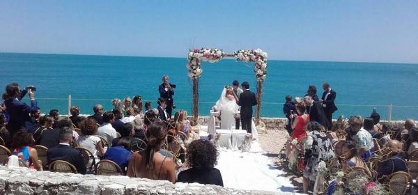 Vieste – AL RESORT PUGNOCHIUSO IL PRIMO MATRIMONIO CIVILE