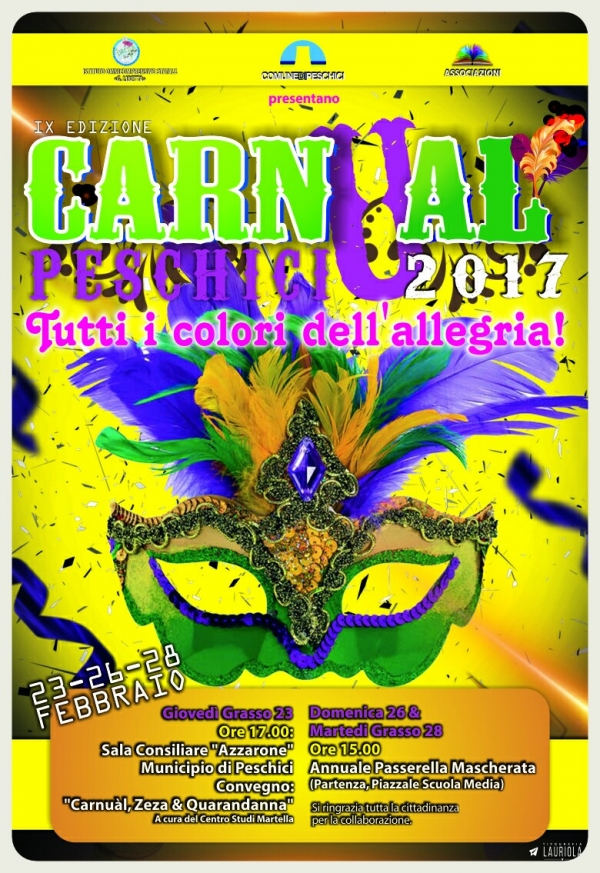 """Carnual"" Peschici 2017: via alle danze!"