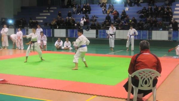 Campionati assoluti di Karate a Casale Monferrato - il bronzo va al Giovane atleta viestano Samuele Silvestri della palestra A.