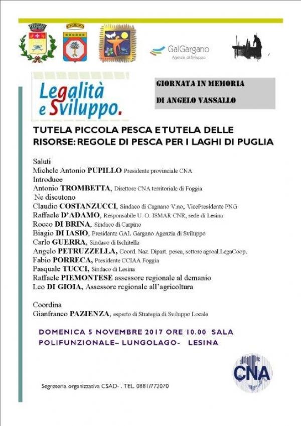Tutela della piccola pesca e tutela delle risorse: regole di pesca per i laghi di Puglia