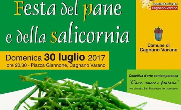 Cagnano Varano/ Oggi la festa del Pane e della Salicornia