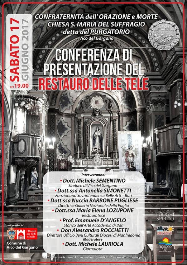 Vico/ Scoperto l'artista napoletano autore della grande pala settecentesca raffigurante la Madonna del Suffragio.