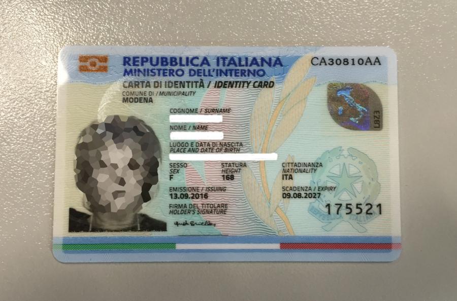 Ufficio Per Carta D Identità : Carta di identità elettronica disponibile per i cittadini del