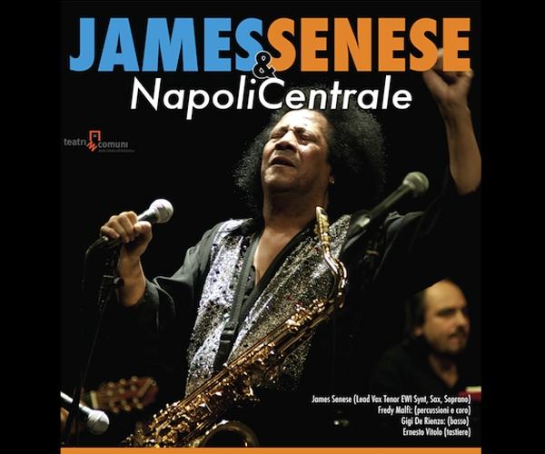 Questa sera James Senese e Napoli Centrale in concerto a Cagnano Varano