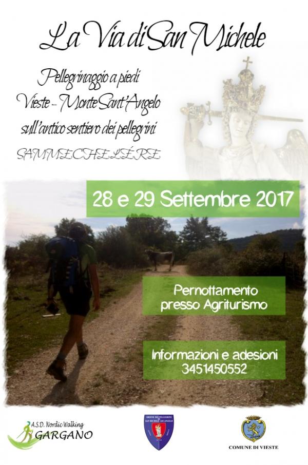 Pellegrinaggio Vieste-Monte Sant'Angelo: fervono i preparativi per l'edizione 2017