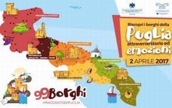 Oggi c'è 99 Borghi anche a Cagnano Varano, Apricena e S. Giovanni Rotondo