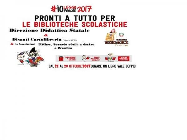 "#ioleggoperché alla Direzione Didattica ""Gianni Rodari"" di Vieste"