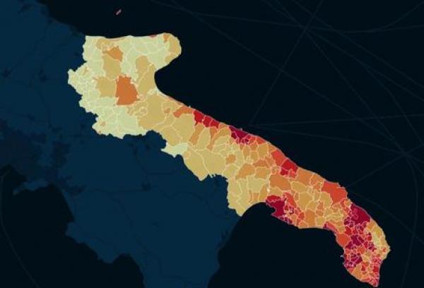 Politecnico Bari/ Studio uso suolo Puglia. Rapporto inedito presentato a Milano, consumo è sull'8-9%