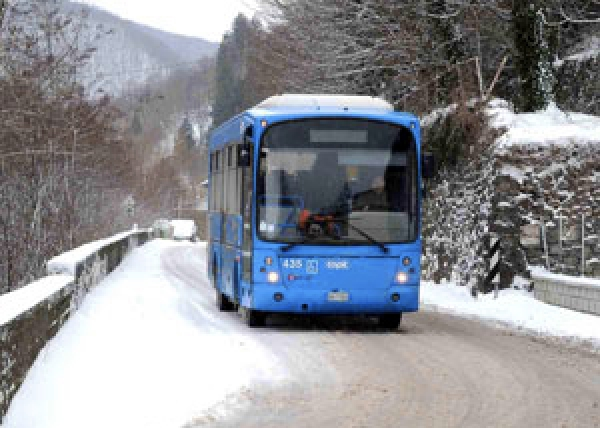 Strade bloccate: niente autobus da Vieste