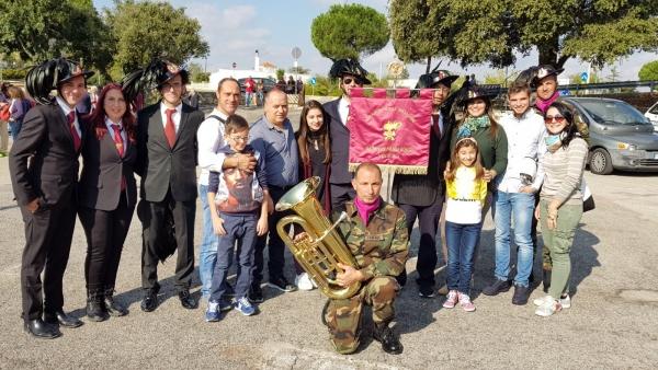 I Bersaglieri viestani al raduno di Ostuni. Il 29 ottobre la sfilata del loro 1° anniversario