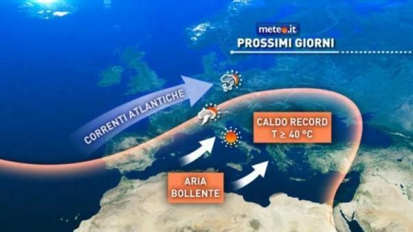 Caldo record dal Sahara: tra oggi e domani il picco, allerta incendi sul Gargano