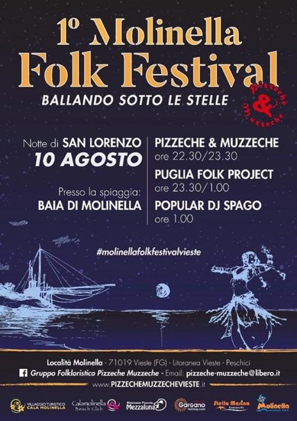 Vieste/ Pronta la 1° edizione del Molinella Folk Festival.