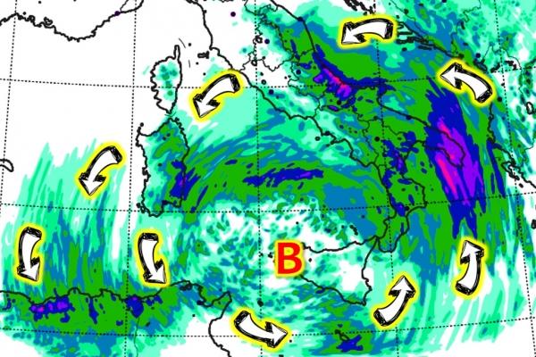 Allerta per rischio idrogeologico e meteorologico per eventi meteo avversi nel Comune di Vieste.