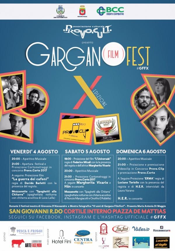 GARGANO FILM FEST, al via la decima edizione