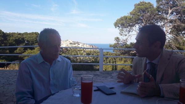 Isole Tremiti/ ....a Gaetano, insieme a parlare di isole. Erri De Luca. Intervista al giornalista-scrittore di Gaetano Simone