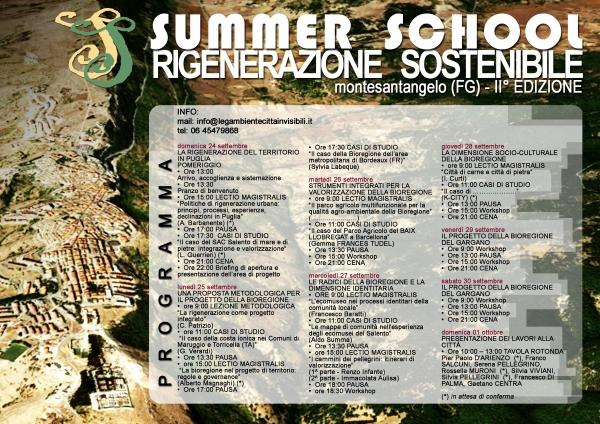 Monte S. Angelo/ Summer school sulla rigenerazione sostenibile II° edizione