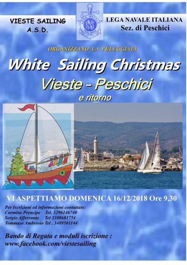 White Sailing Christmas/ Vieste – Peschici e Ritorno 16 dicembre – IL BANDO -