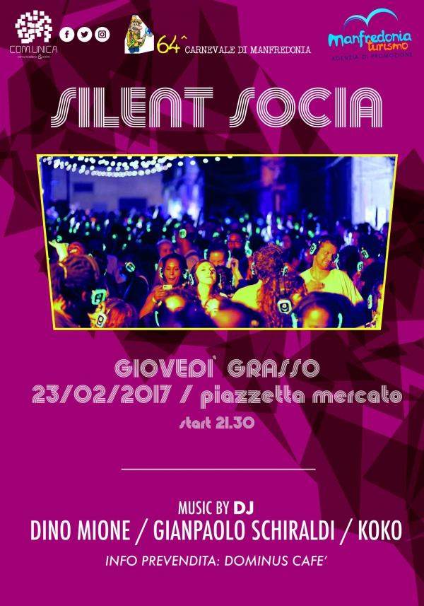 Folklore e innovazione: al Carnevale di Manfredonia arriva la ?Silent Socia?