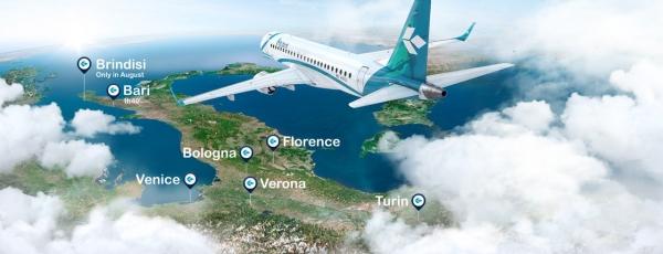 Air Dolomiti regala ai propri passeggeri un Natale anche dal gusto tutto viestano con i piatti dello chef Leo Vescera!