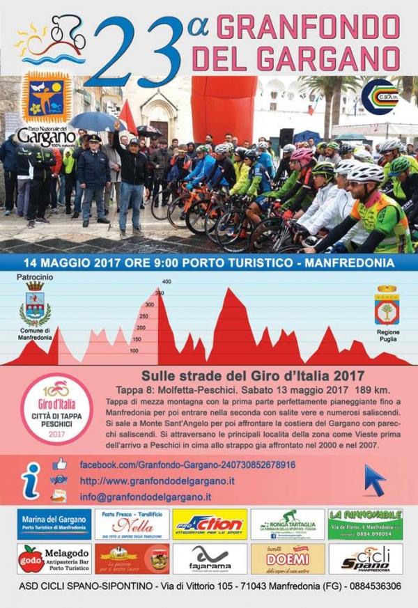 Granfondo del Gargano, un'edizione ad hoc aspettando il Giro d'Italia e il ricordo di Michele Scarponi