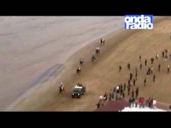 Vieste/ La Corsa di S. Giorgio si farà e torna sulla spiaggia di San Lorenzo che costeggia il Lungomare Europa.