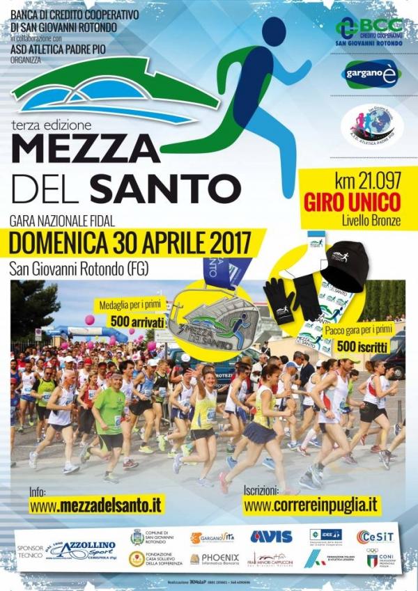 Lunedì 1° Maggio ore 08:00 presso il Parco del Papa a San Giovanni Rotondo III Edizione Gargano è: Corsa Peter Pan,