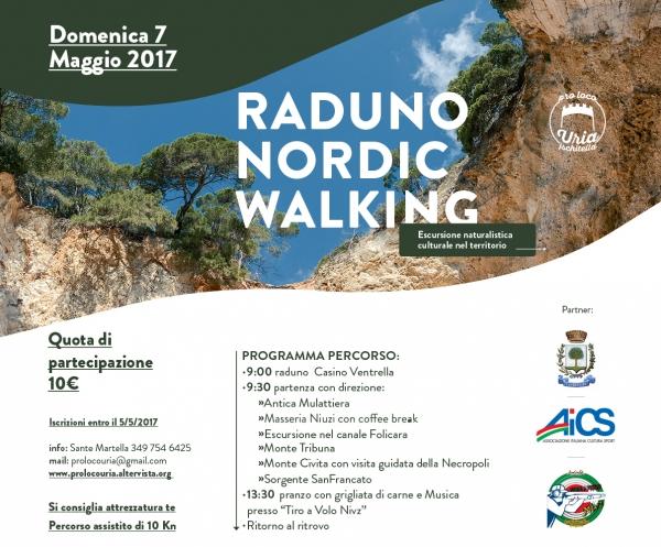 """Ischitella/ La Pro Loco """"Uria organizza """"Raduno di Nordic Walking""""."""