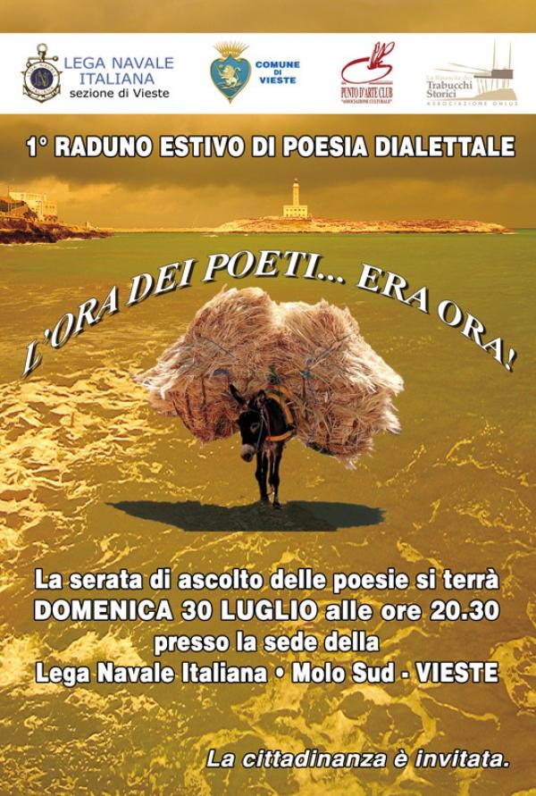 A Vieste il 1° raduno estivo di poesia dialettale