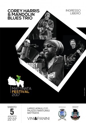 IL BLUES DI COREY HARRIS AL MATTINATA FESTIVAL