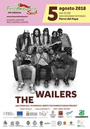 Welcoming Europe arriva a FestambienteSud, chiusura con i leggendari The Wailers
