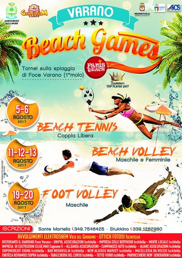 PARTE IL VARANO BEACH GAMES