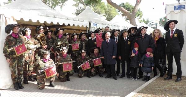 """Vieste/ Domenica 29 ottobre 1° anniversario dell'inaugurazione della sezione Bersaglieri """"Gen. Michele Bosco"""""""