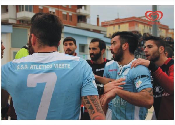 Eccellenza/ Rimpianti, proteste e goal annullato: Atletico Vieste-Novoli Termina 0-0